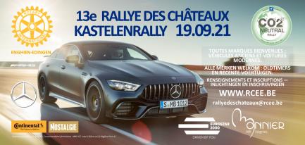 13ième édition du Rallye des Chateaux