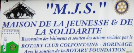 Visite de la MJS à Frameries après rénovations