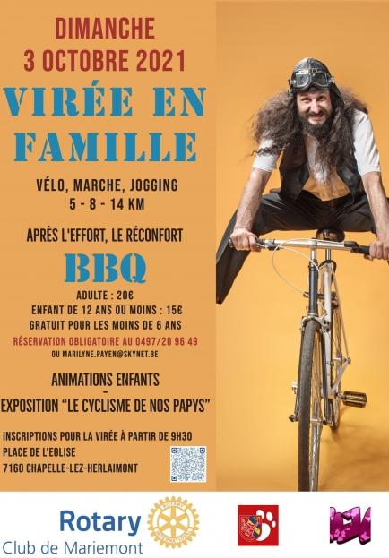 Virée vélo en famille